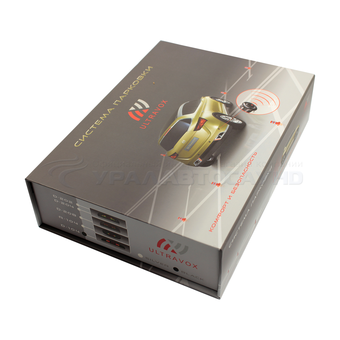 Парковочный радар Ultravox D-104 B