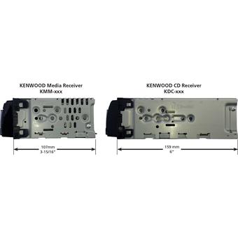 Цифровой ресивер Kenwood KMM-BT302
