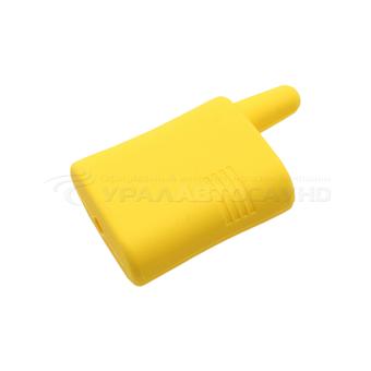 Силиконовый чехол на Scher-Khan Magicar A/B (жёлтый)
