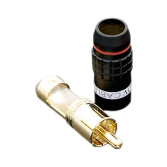 Tchernov Cable RCA Plug Standard 2 Red