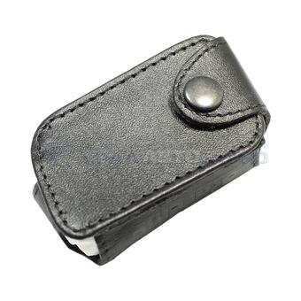 Защитный чехол для брелка StarLine A63/A66/A93/A96 (чёрный, кожа)