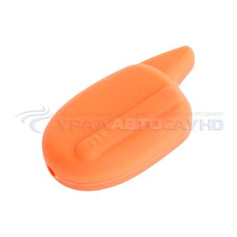 Защитный чехол для брелка Scher-Khan Magicar 7/8/9/10/11/12 (оранжевый)