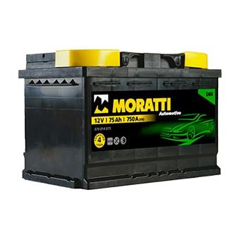 Moratti Automotive DIN 75 Ah п.п.