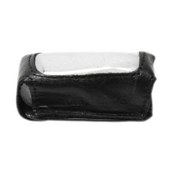Защитный чехол для брелка StarLine A62/A64/A65/A92/A94/A95/T94 (чёрный, кожа)